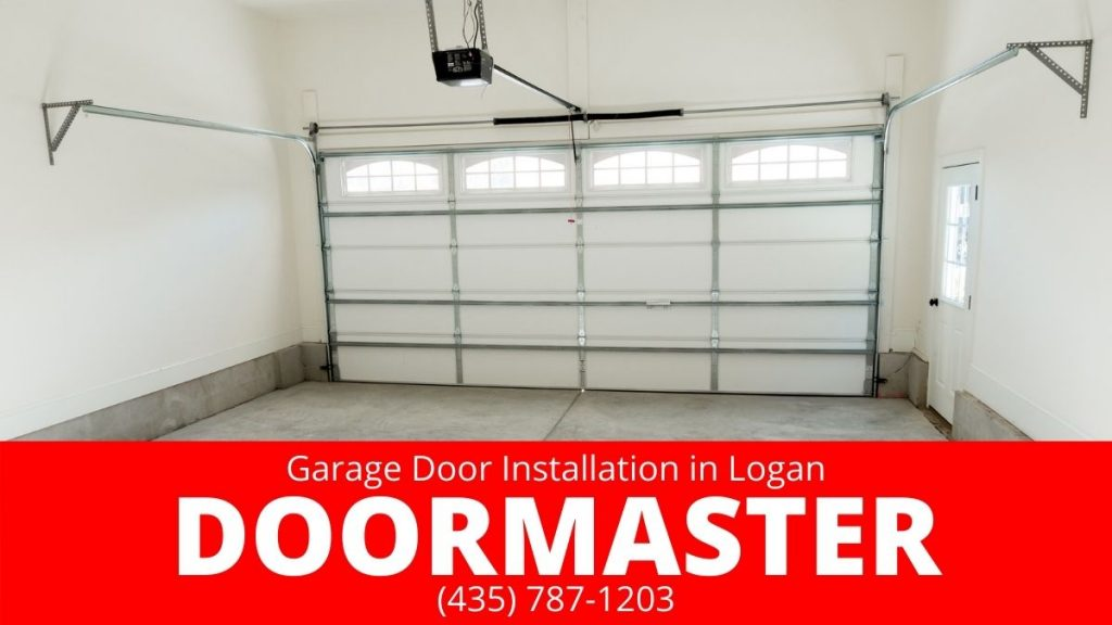 garage door installation in Logan